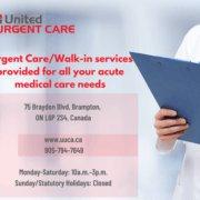 United Urgent Care Associates 75 Braydon Blvd Brampton ON L6P 2S4 Canada 1